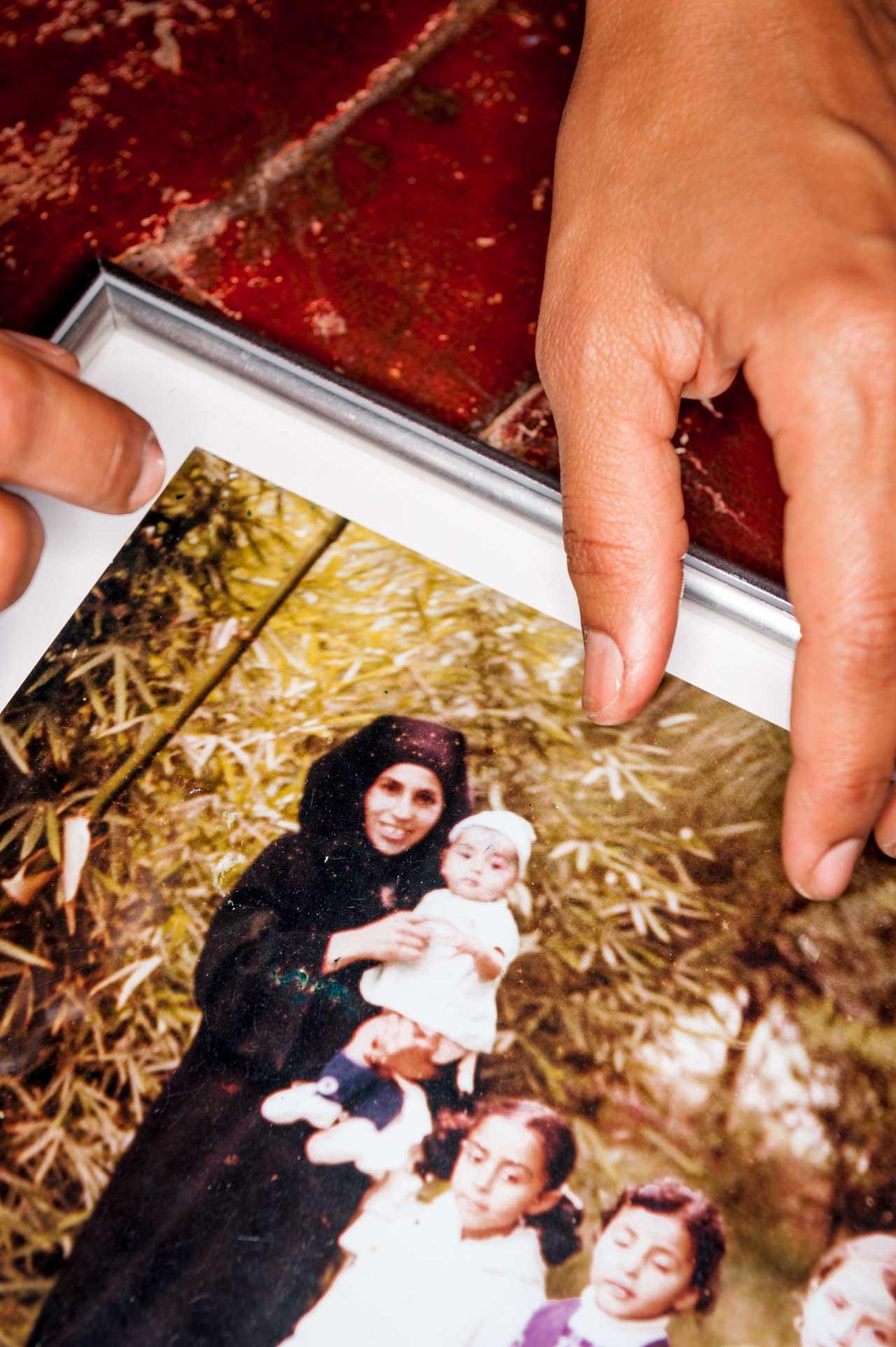 Erinnerungsfoto aus Ouardas Kindheit in Marokko. Ouarda Saillo, 41, lebt seit 23 Jahren in Deutschland und ist seit 15 Jahren deutsche Staatsbürgerin. Foto: Bethel Fath