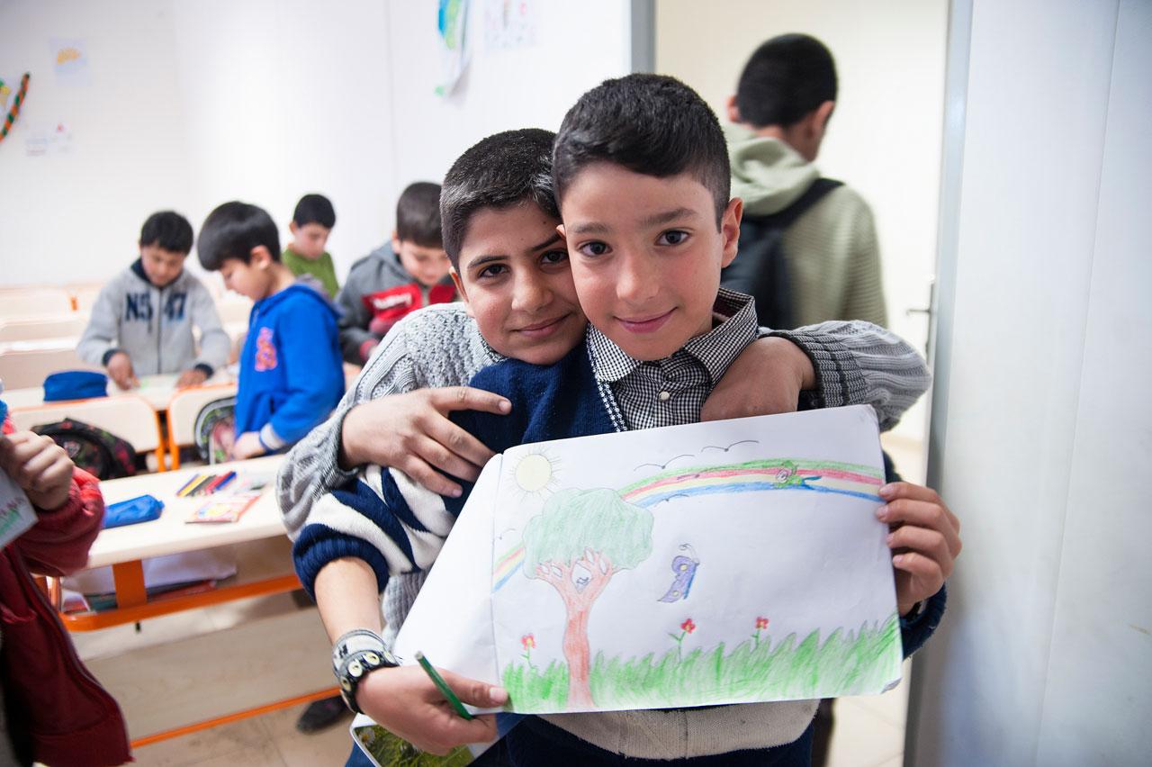 »Schule der Hoffnung« – UNICEF-Projekt in Kilis, Türkei. Foto: Claudia Wiens